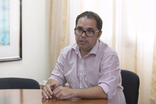 El viceconsejero de Empleo del Gobierno de Canarias, Gustavo Santana