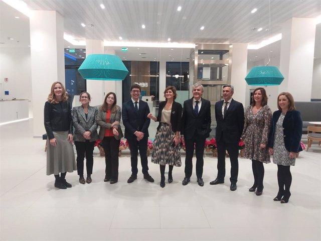 Inauguración de la nueva oficina de Centro de Banca de Clientes del BBVA en Bilbao