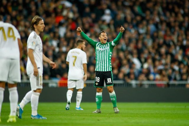 Andres Guardado, jugador del Real Betis