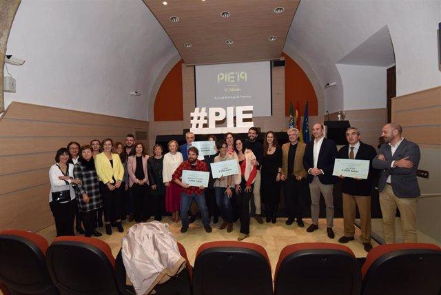 Ganadores de los Premios PIE