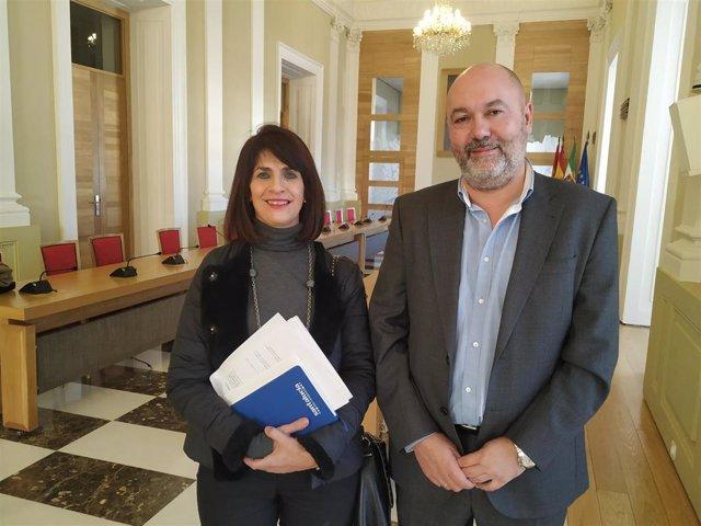 Mar Díaz y Francisco Alcántara impulsan un nuevo partido