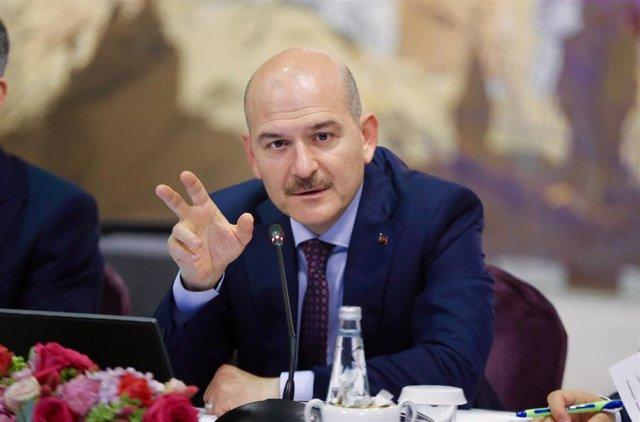 El ministro del Interior de Turquía, Suleiman Soylu