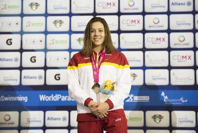 La nadadora paralímpica española Nuria Marqués