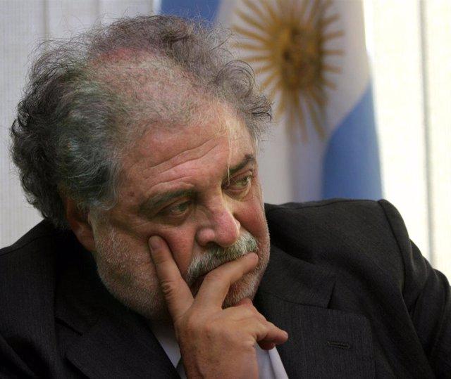 El entrante ministro de Salud del Gobierno de Argentina, Ginés González García, en Tokio (2005)