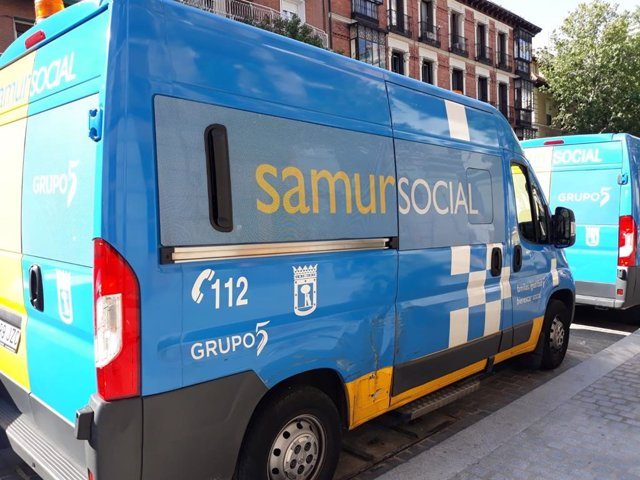Imagen de recurso de un vehículo del Samur Social.