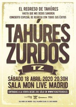 Tahúres Zurdos en Madrid