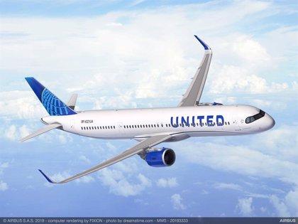United Airlines encarga 50 aviones A321XLR a Airbus, valorados en más de 6.400 millones
