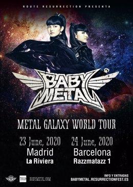 Babymetal en España