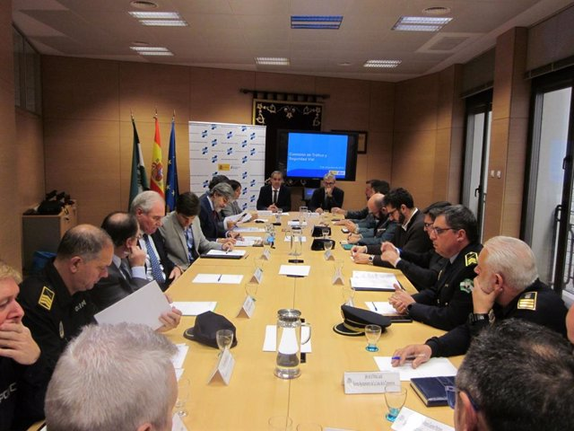 Reunión provincial de tráfico