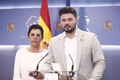 ERC, Bildu y la CUP declinan acudir a la ronda de consultas del Rey para la investidura