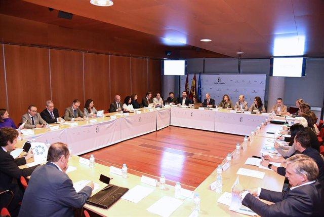 Comisión de Seguimiento del Pacto por la Recuperación Económica en Castilla-La Mancha.