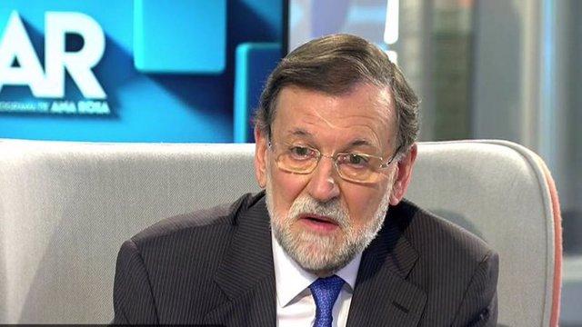 Entrevista al expresidente del Gobierno Mariano Rajoy