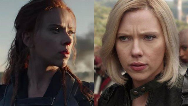 Scarlett Johansson es Viuda Negra (Black Widow)