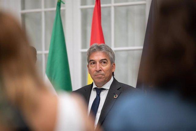 El delegado del Gobierno en Andalucía, Lucrecio Fernández, en una foto de archivo.