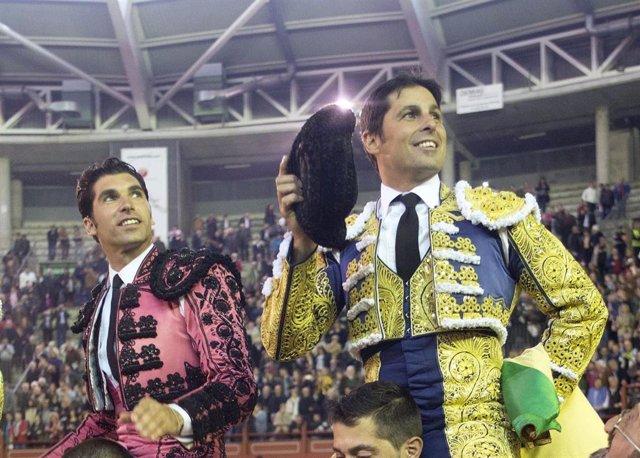 Cayetano y Fran Rivera en una imagen de archivo de Europa Press