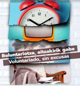 Campaña para aumentar el voluntariado vasco