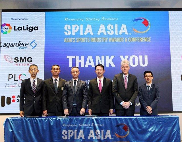 Fútbol.- Valencia, Mallorca y Valladolid participarán junto a LaLiga en la conferencia 'SPIA Asia' en Filipinas