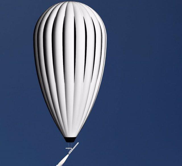 Sistema de lanzamiento de cohetes desde un globo