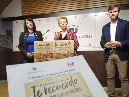 La copla de Pilar Boyero llega a 10 residencias de mayores de la provincia de Cáceres como terapia para recordar