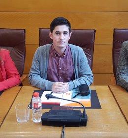 El diputado del grupo Cs en el Parlamento de Cantabria Diego Marañón
