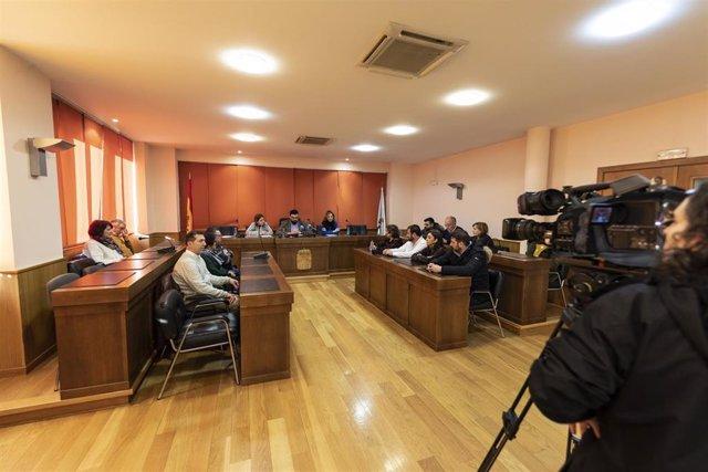 Pleno del Ayuntamiento de Verín (Ourense)