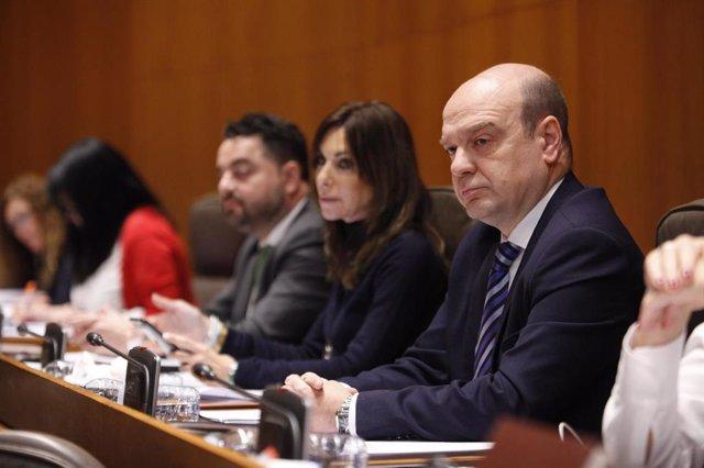 Santiago Morón, el portavoz de Vox en las Cortes de Aragón