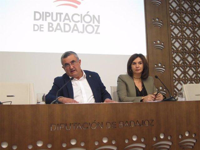 Presentación del plresupuesto del Área de Contratación y Fondos Europeos de la Diputación de Badajoz para 2020