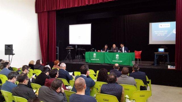 Jornada sobre la administración electrónica desarrollada por la Diputación en Turre (Almería)