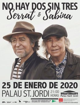 Sabina y Serrat en Barcelona