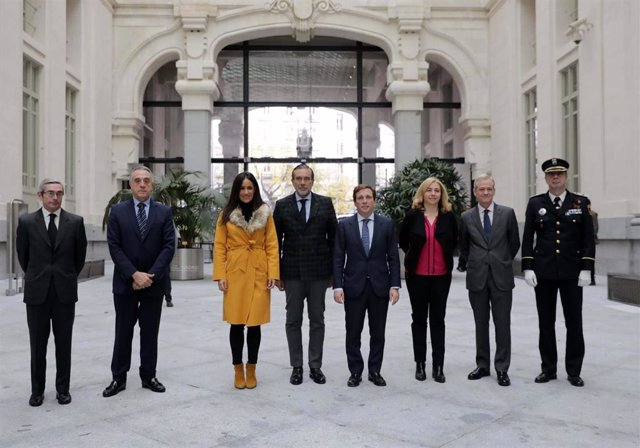 [Grupomadrid] Pie De Foto Y Fotos: La Comunidad De Madrid Ha Formado A 142 Agentes De Policía Local En 2019