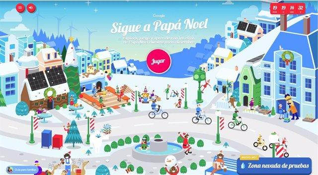 Llega la Navidad a Google con nuevas actividades y juegos en la Aldea de Papá No