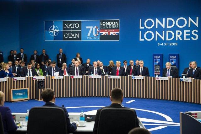Reunió de líders de l'OTAN.