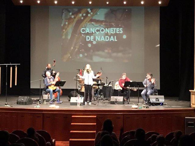 Foto de archivo del concierto 'Cançonetes de Nadal'
