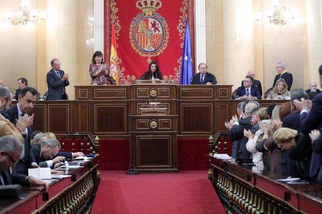 Pleno de constitución del Senado en la XIV legislatura.