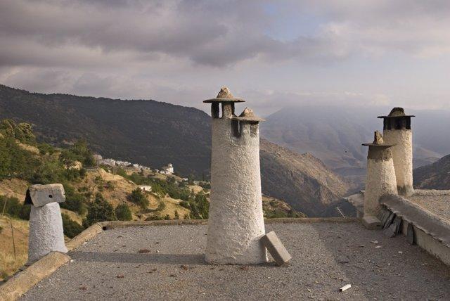Chimeneas en Capileira