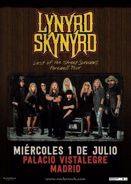 Lynyrd Skynyrd en Madrid