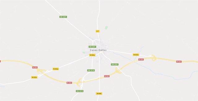 Imagen de Casas Ibáñez en Google Maps
