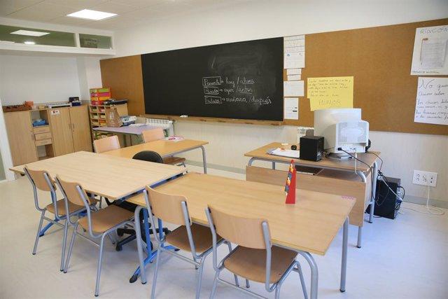 Col·legi, classe, aula, infantil, escolar.