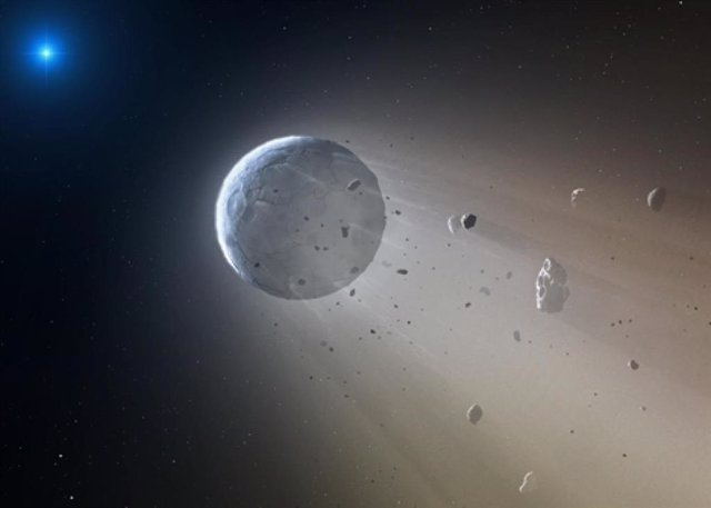 Primer planeta gigante alrededor de una enana blanca