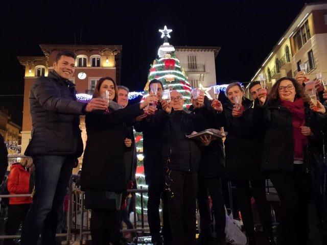 Teruel enciende las luces de Navidad.