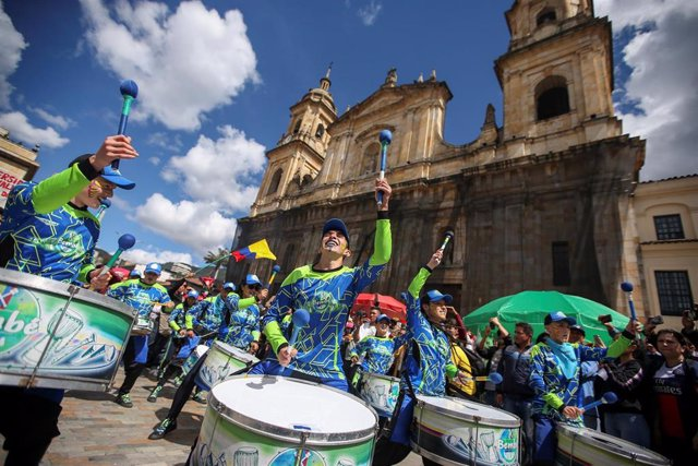 Manifestaciones en Bogotá