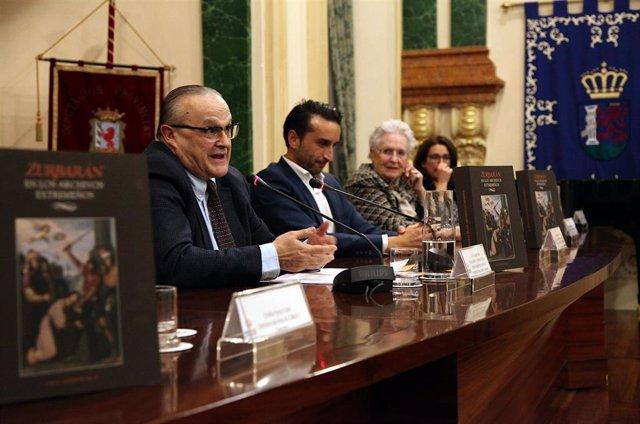 Presentación de la publicación sobre Zurbarán en la Diputación de Badajoz