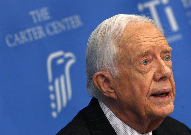 El expresidente Jimmy Carter.