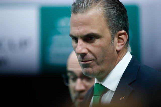 El secretario general de Vox, Javier Ortega Smith, en una imagen de archivo