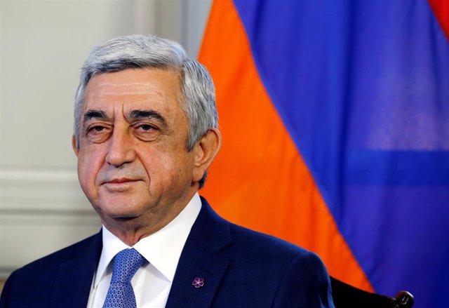 El expresidente de Armenia Serzh Sargsian