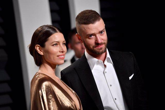 Jessica Biel y Justin Timberlake, en una foto de archivo de Getty