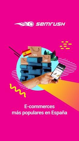 COMUNICADO: Estudio de SEMrush: Sitios web de comercio electrónico más populares