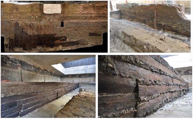 El comercio de madera a larga distancia sustentó el Imperio Romano