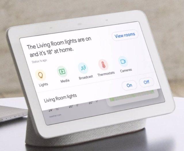 Dispositivo inteligente Nest Hub