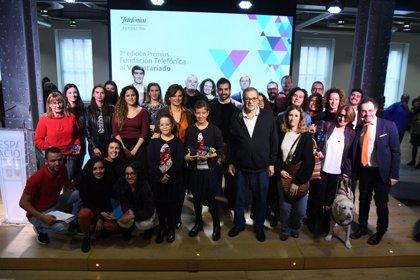 Fundación Telefónica entrega sus premios a las cinco mejores iniciativas de voluntariado en España